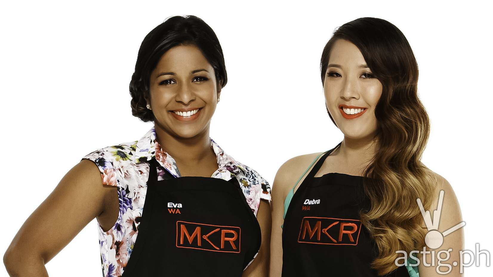 Eva Lean, Debra Chng of My Kitchen Rules