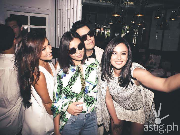 Georgina Wilson, Solenn Heussaff, Liz Uy, and Raymond Gutierrez at the Besties book launch