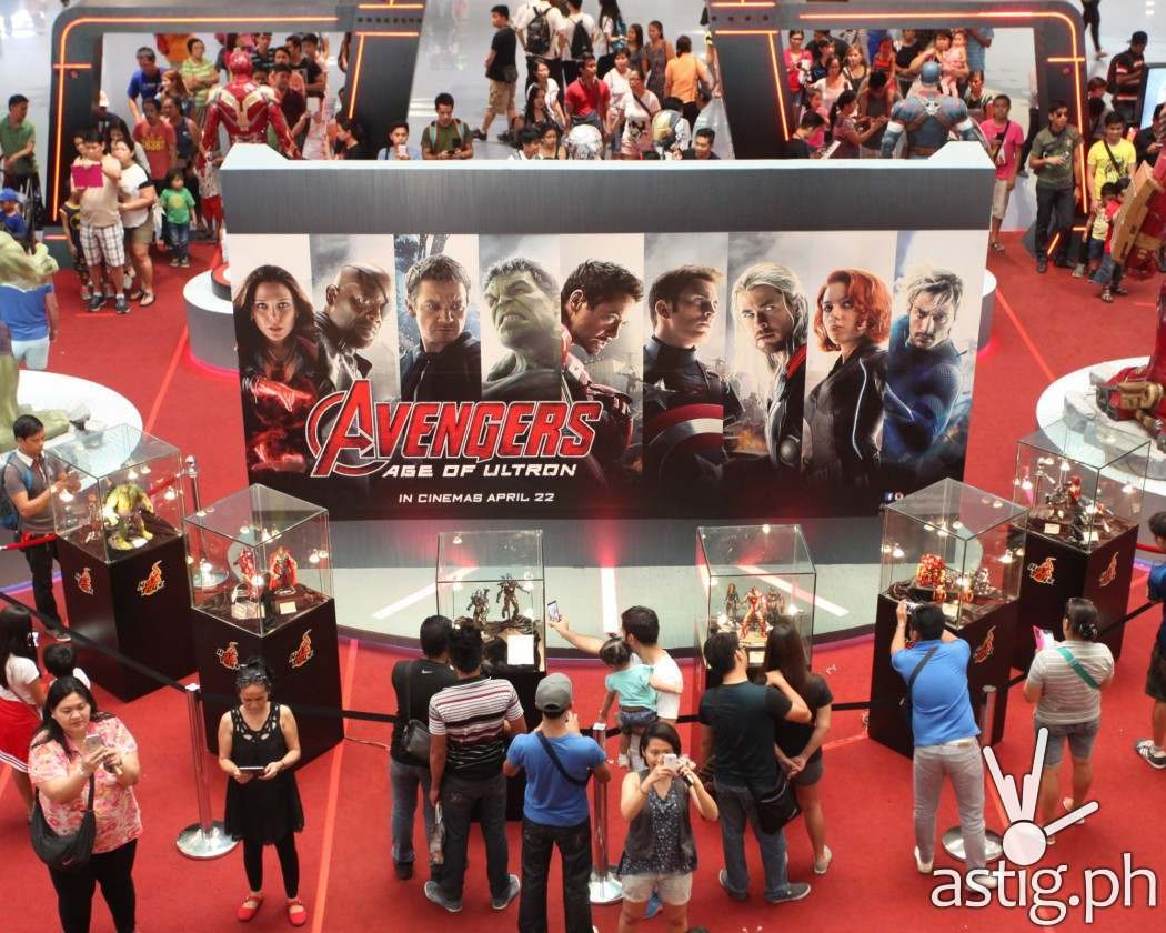 Avengers: Age of Ultron exhibit by Filbar's SM North EDSA