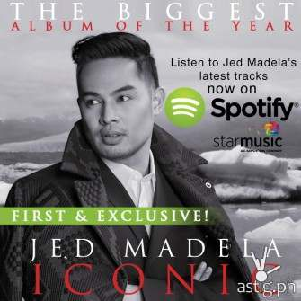 Jed Madela's Iconic contains covers of Madonna, Mariah, Celine, and Whitney