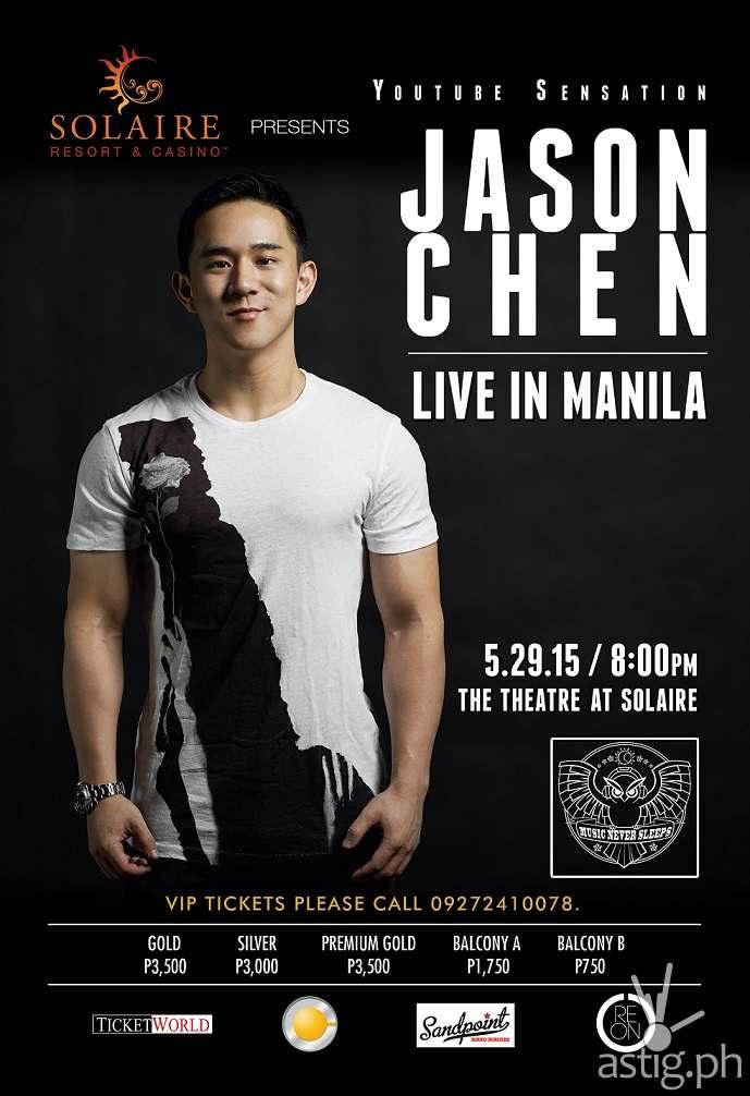 Jason Chen Live in Manila poster