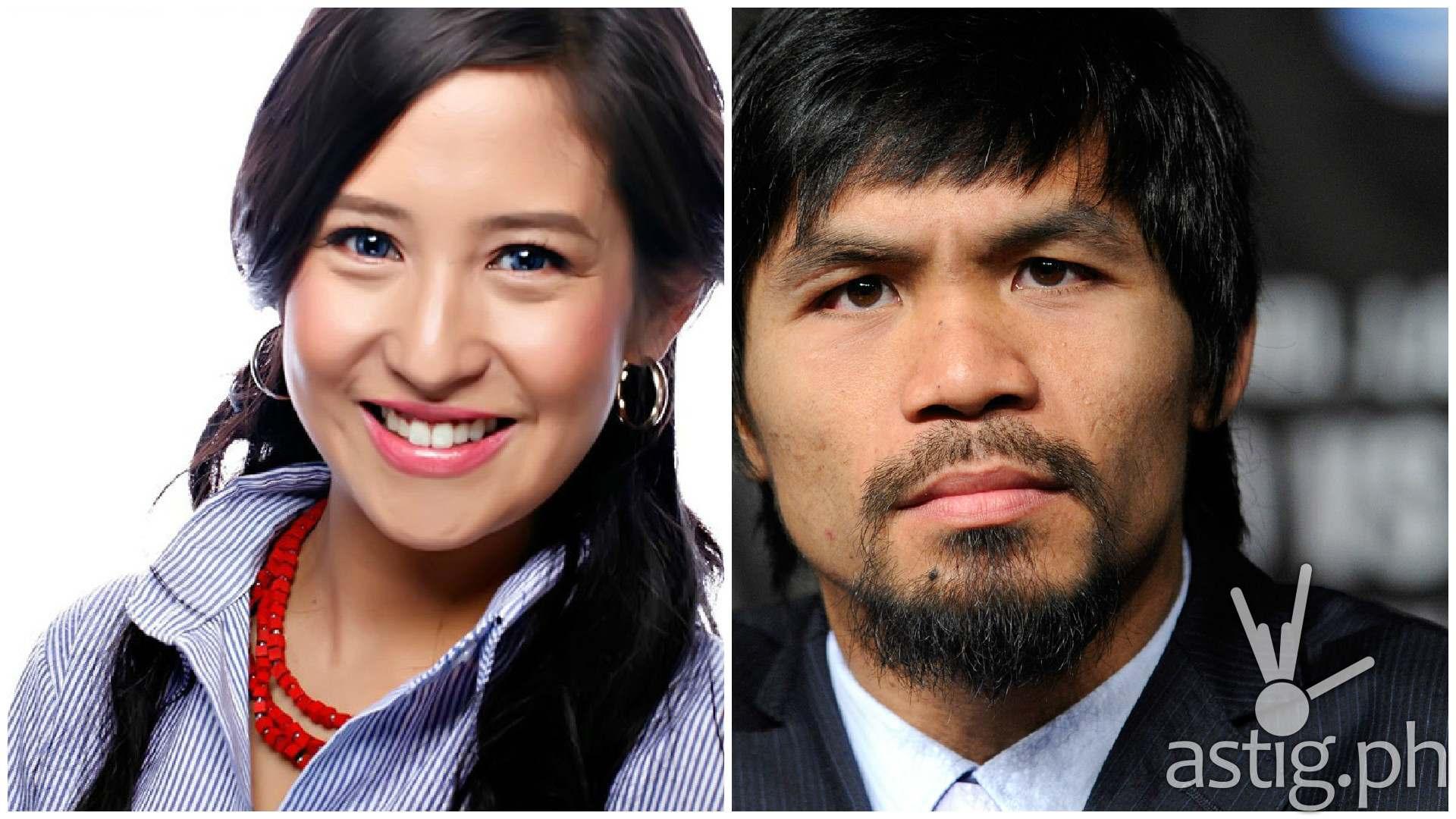 Jolina Magdangal Manny Pacquiao