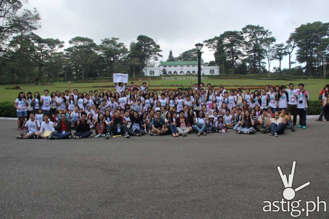 Delegates of the 36th SummerCon held at Baguio City