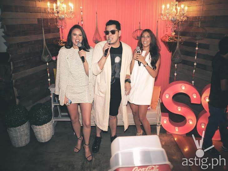Raymond Gutierrez hosts Georgina and Solenn's Besties book launch