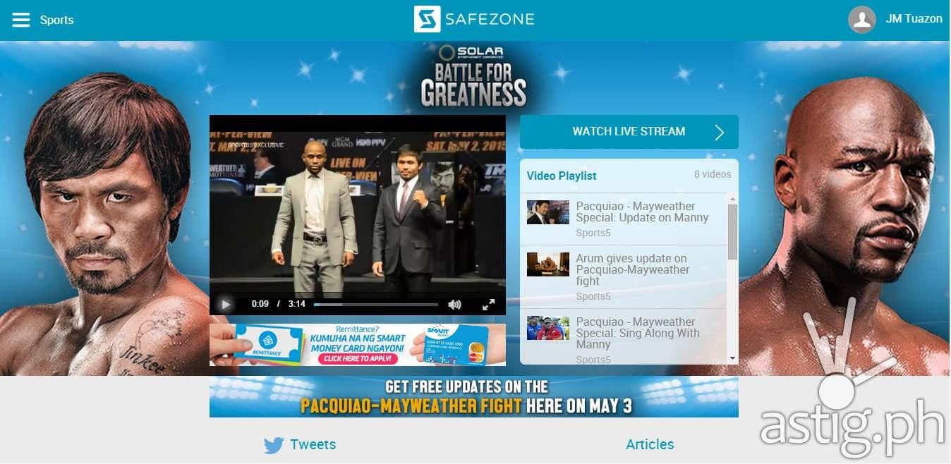 SafeZone-Pacquiao