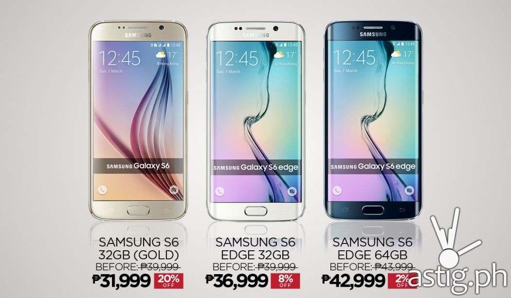 Samsung Galaxy S6 Edge prices on Lazada