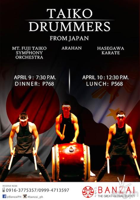 Taiko Drummers at Banzai
