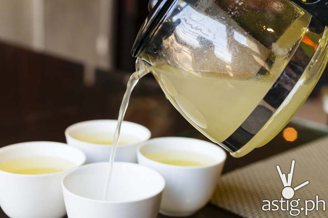 The Honey Citron Tea at Leann's Tea House is not yet available, watch out for it soon!