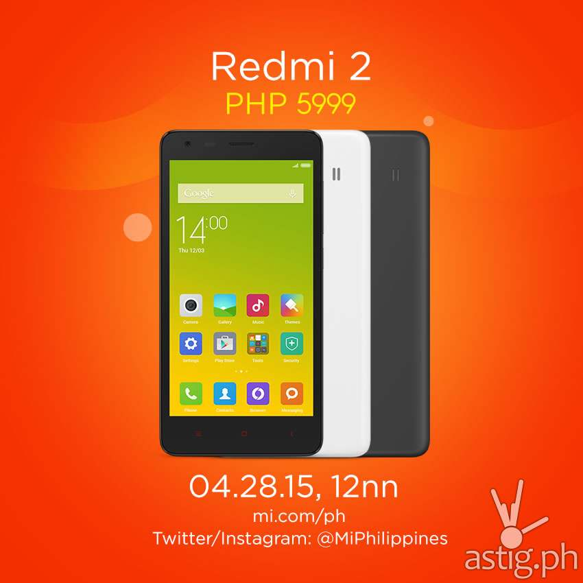 Xiaomi Redmi 2 Philippines