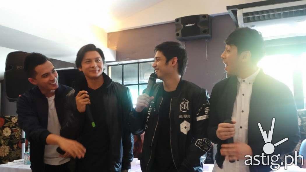 Harana Band: Marlo Mortel, Joseph Marco, Bryan Santos, Michael Pangilinan