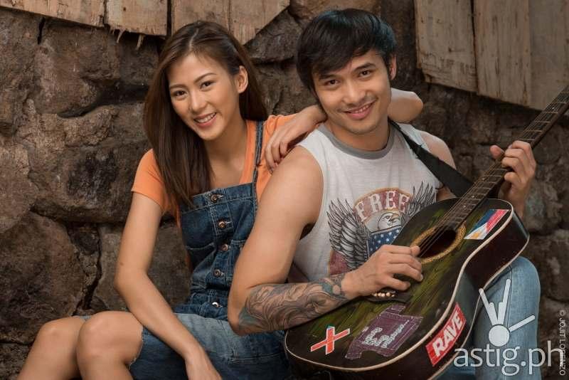 Alex Gonzaga and Kean Cipriano