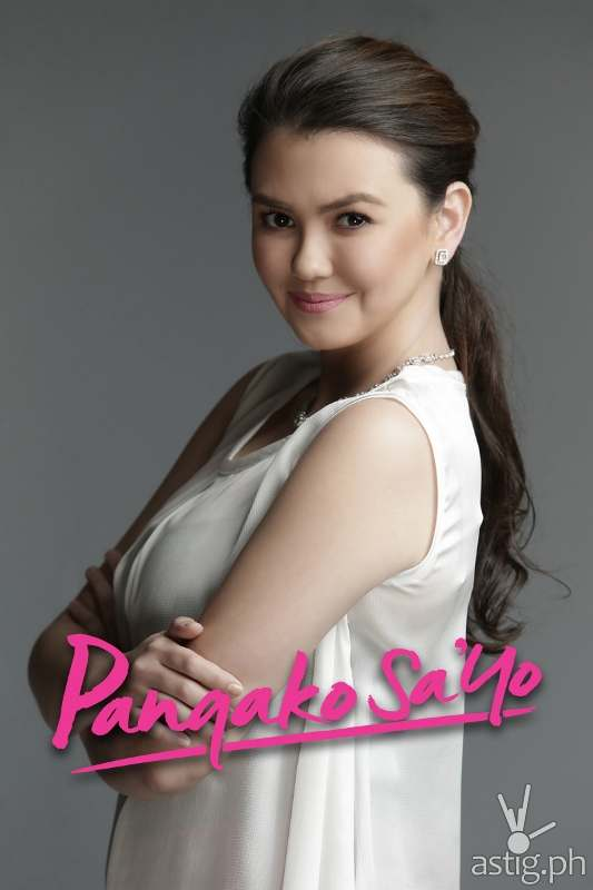 Angelica Panganiban as Claudia Buenavista in Pangako Sa'yo