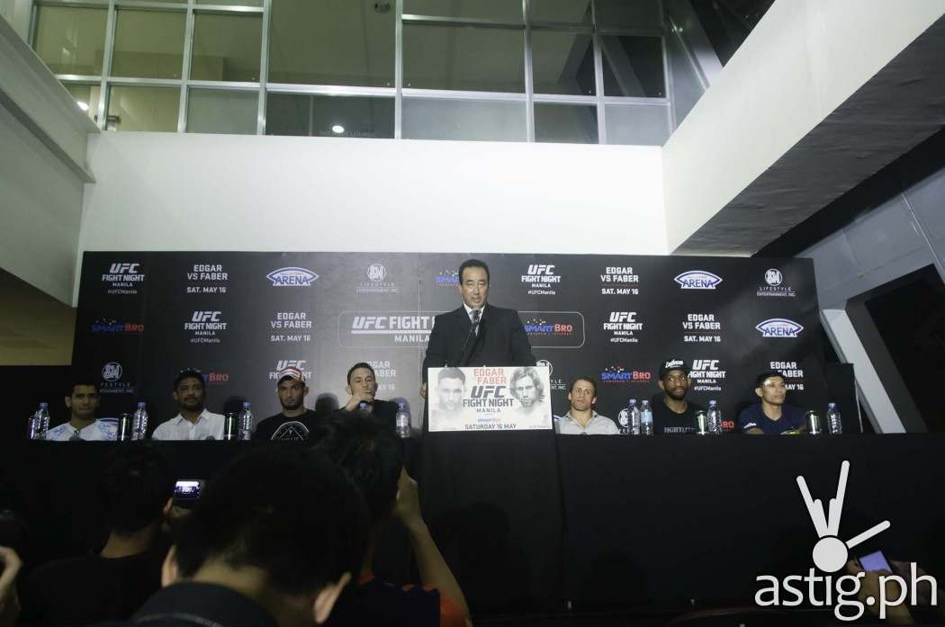 UFC Fight Night Manila post-fight press conference