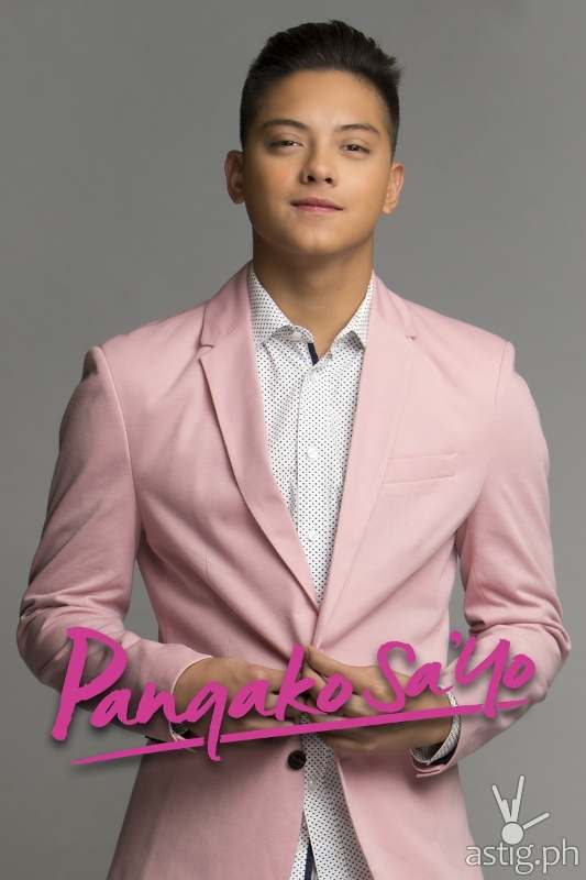 Daniel  Padilla as Angelo Buenavista in Pangako Sa'yo