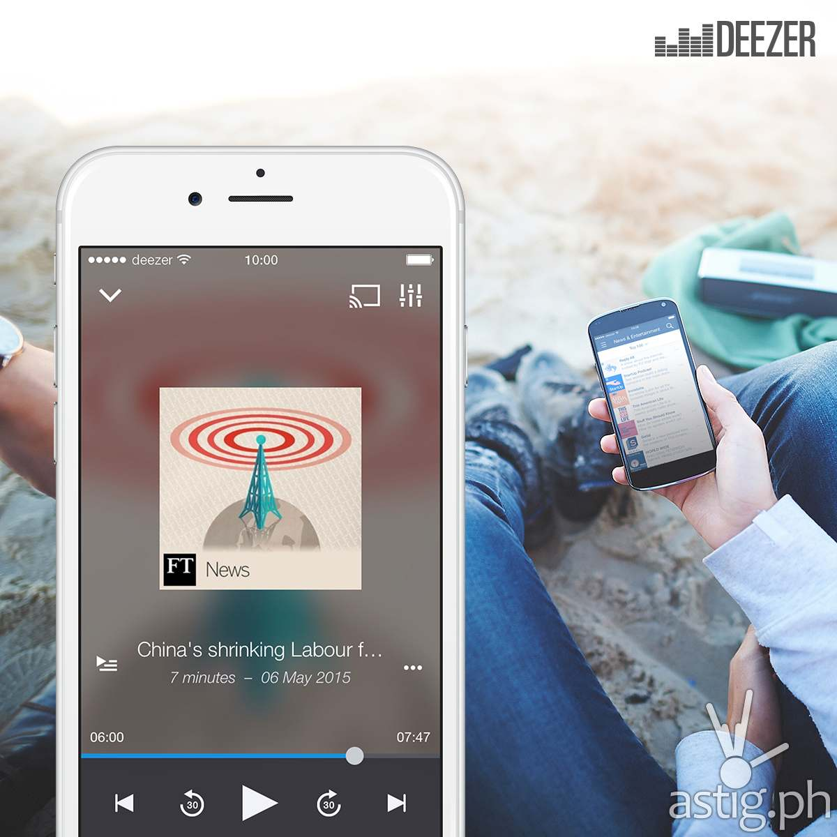 Deezer podcast