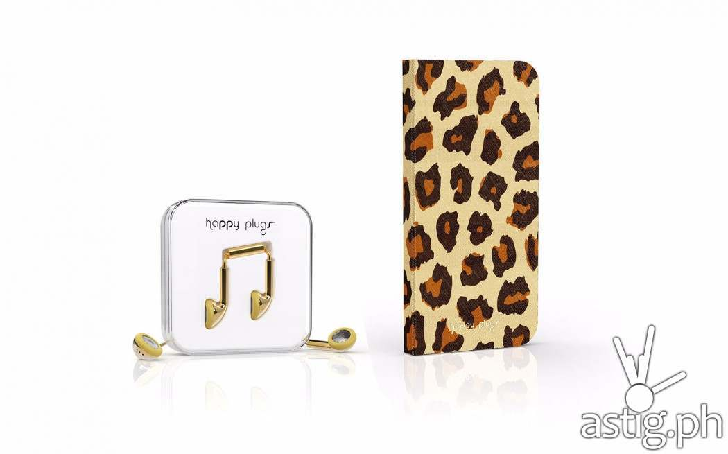 "International fashion and lifestyle brand Happy Plugs partners with Power Mac Center for its first ever fashion event collaboration in the Philippines, introducing stylish accessories such as the Gold Earbud and Leopard Flip Case (shown in photo) at the runways of Philippine Fashion Week slated for June 12-14 at the SM Aura Premier. Established in September 2011, Happy Plugs will set the pace for accessories at the country's biggest fashion event, underlining the ""What Color Are You Today?""® concept in delivering style and functionality to mobile gadgets."
