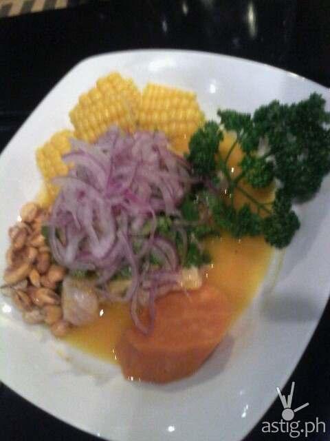 Ceviche De Pescado at Don Andres Peruvian Kitchen