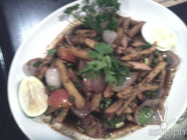 Pollo Saltado at Don Andres Peruvian Kitchen