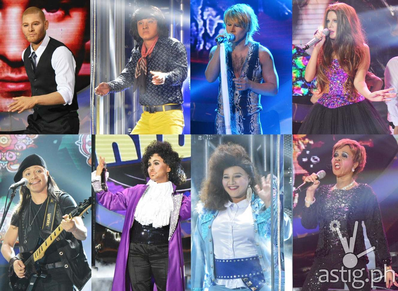 Jay-R as Justin Timberlake, EA as Victor Wood, Tutti as Jon Bon Jovi, Maxene as Selena Gomez, Nyoy as