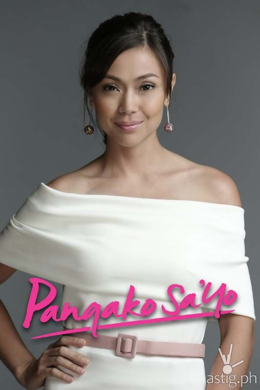 Jodi Sta. Maria as Amor Powers in Pangako Sa'yo