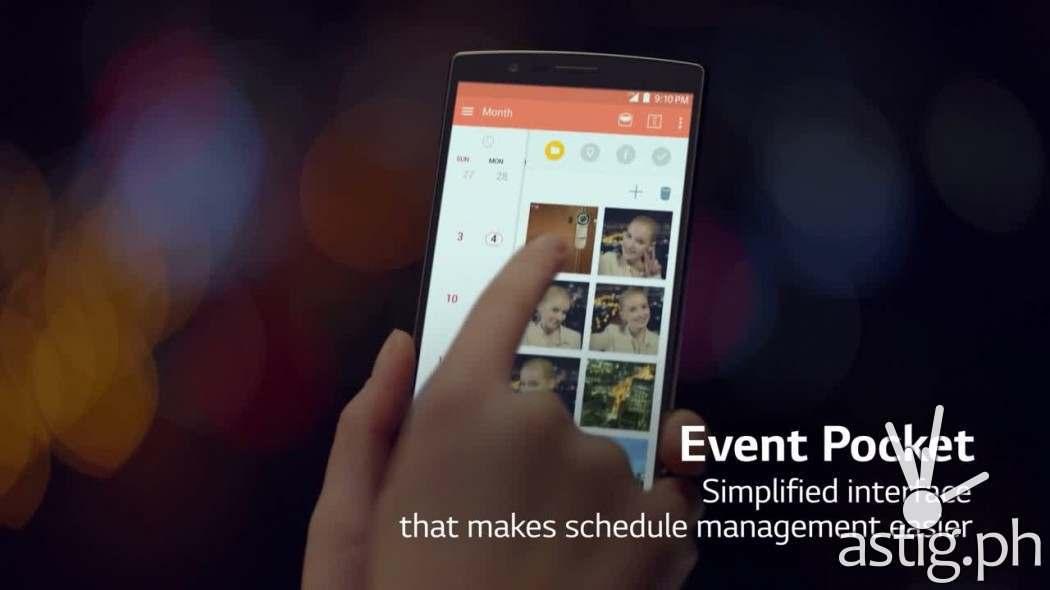 LG G4 Event Pocket