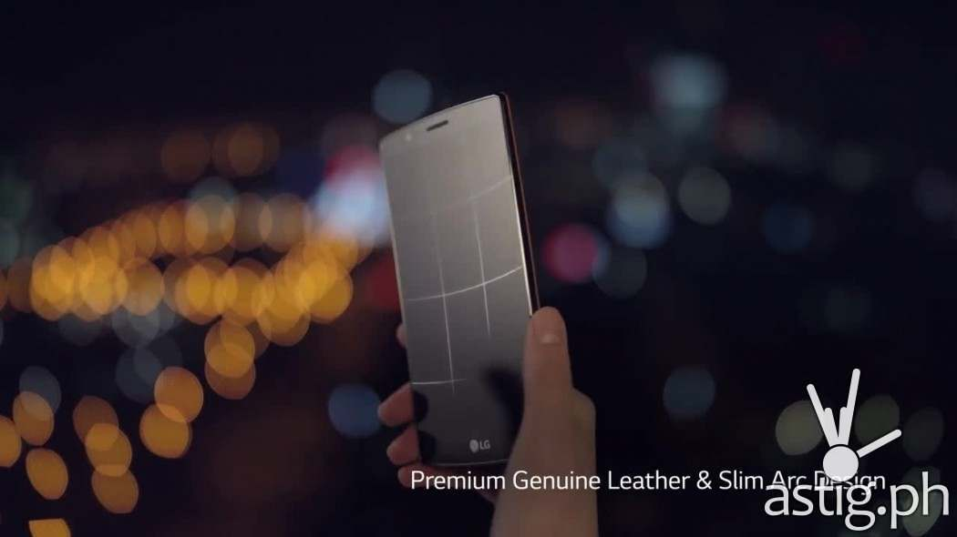 LG G4 curved screen