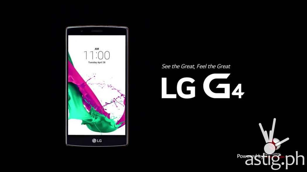 LG G4 see the great feel the great