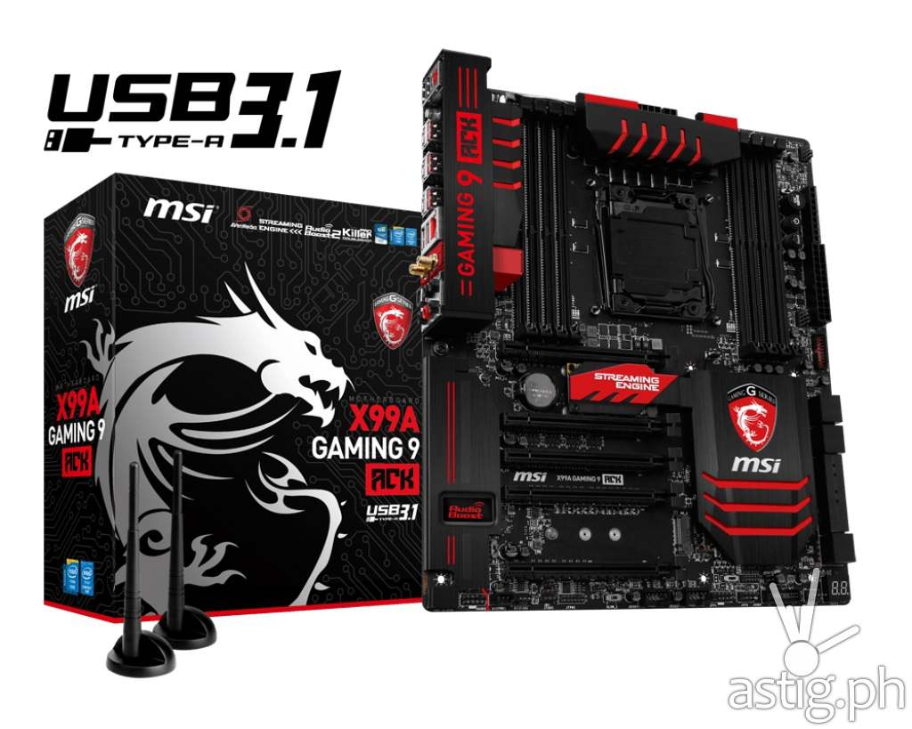 MSI X99A Gaming 9 ACK motherboard