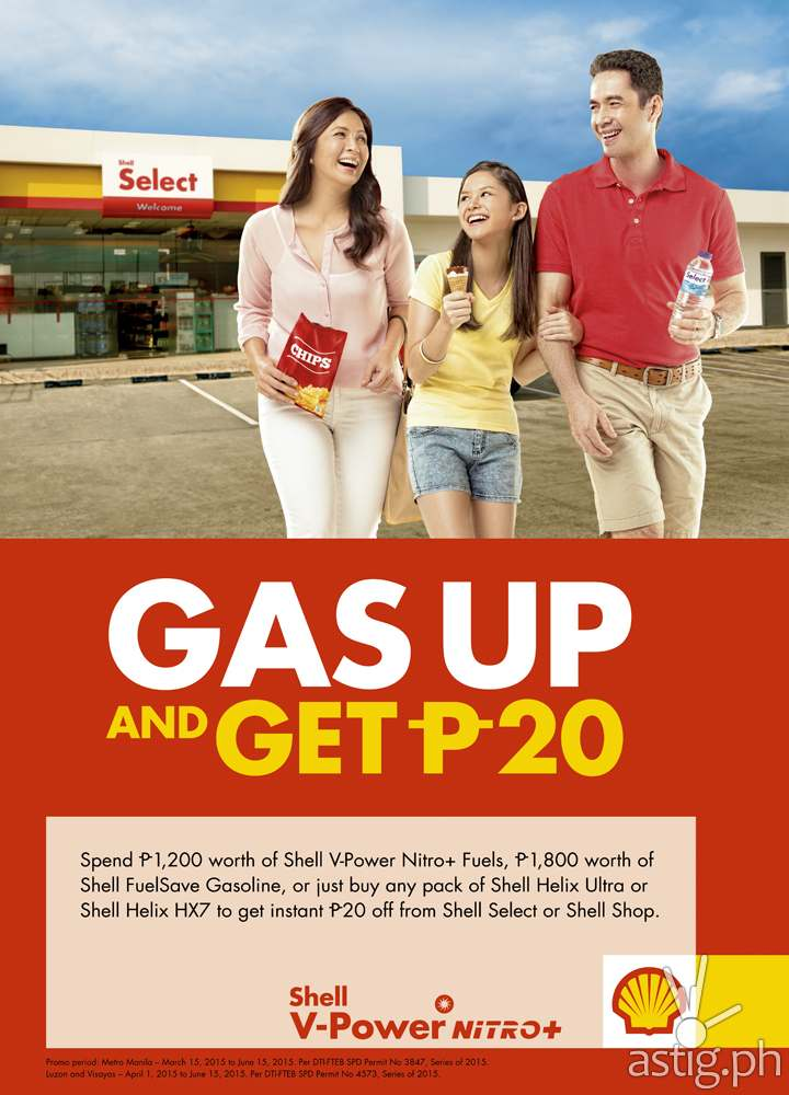 Shell- Gas up and Get 20