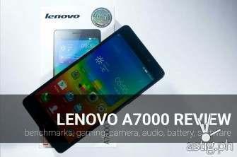 Lenovo A7000 smartphone review [video]