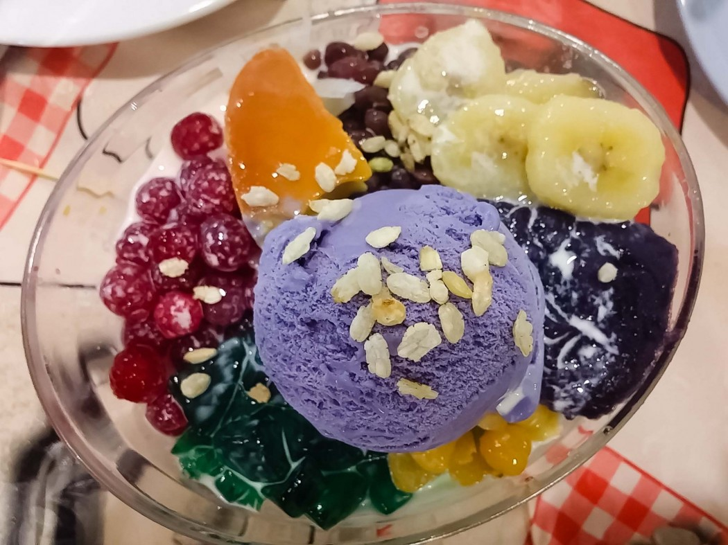 Special Halo-Halo (PHP 90) at Three Sisters' Restaurant of Pasig