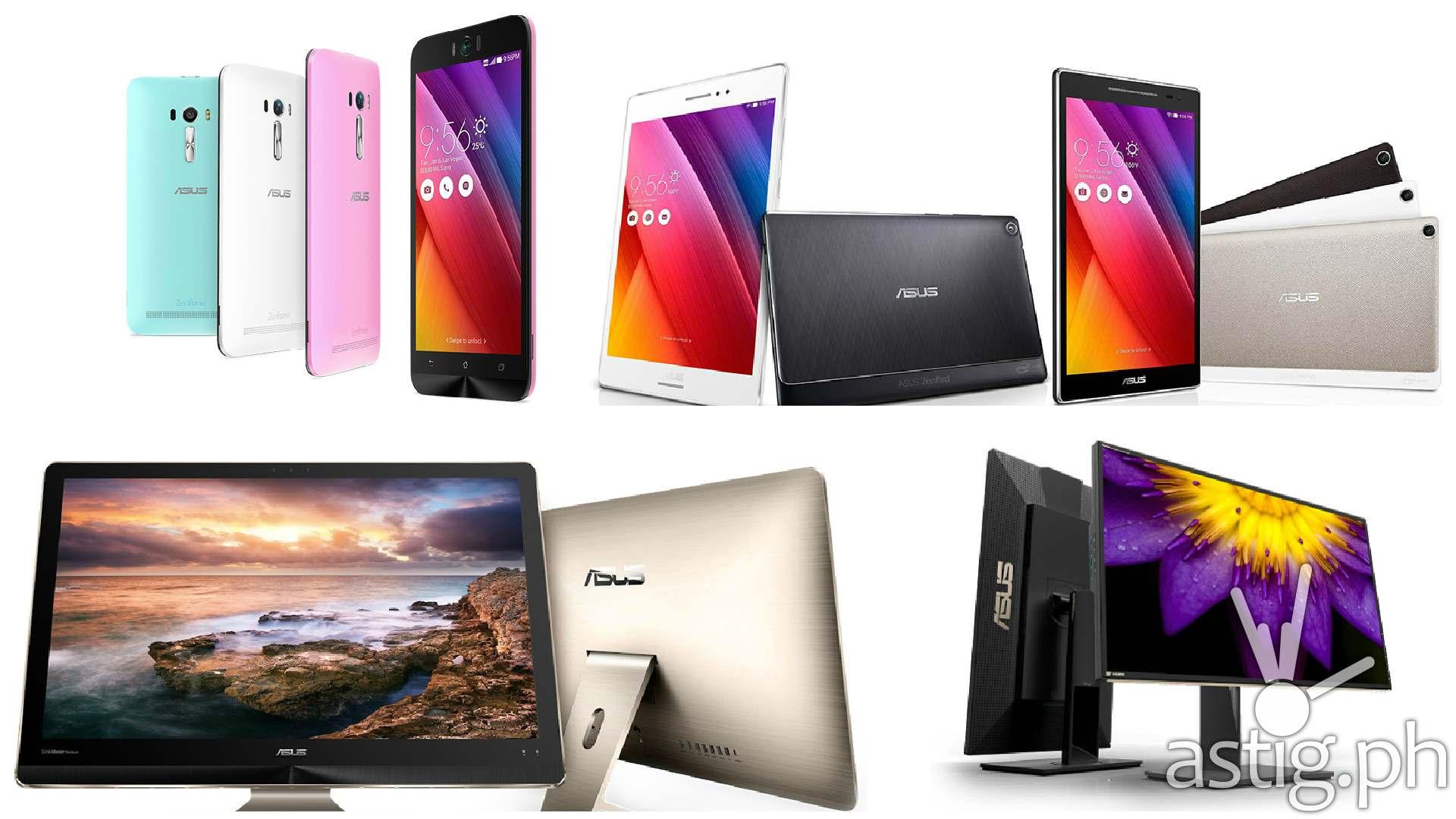 ASUS ZenPad 8, ASUS Zenfone Selfie, ASUS Zen Aio, ASUS ProArt PA329Q 4K at Computex