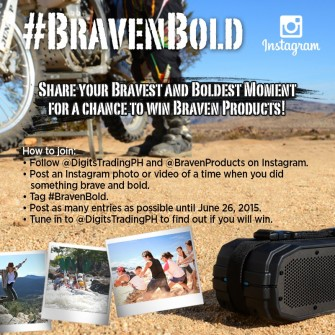 Braven wireless speakers Instagram giveaway