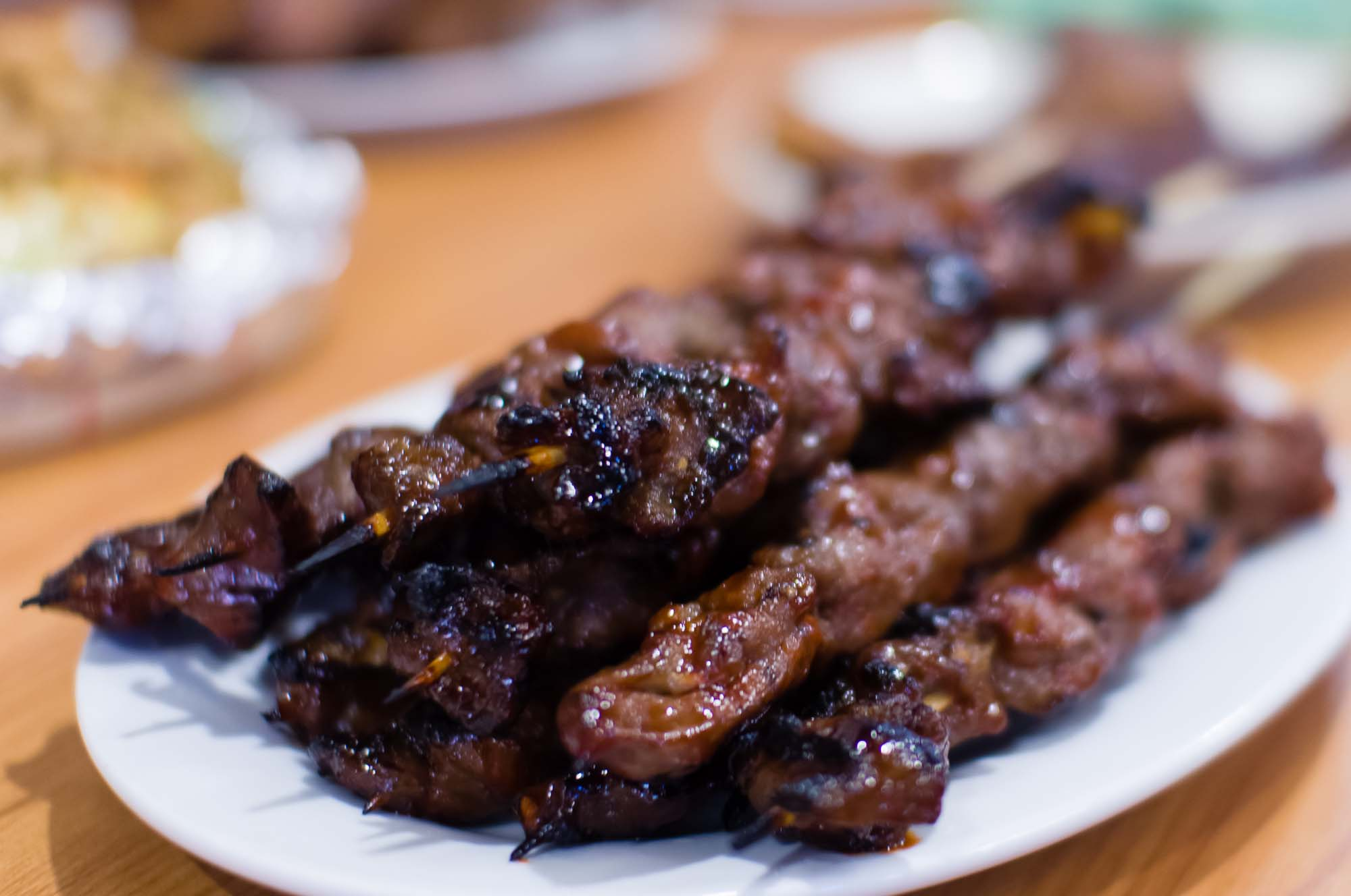 Pork Barbecue (PHP 48) at Three Sisters' Restaurant of Pasig