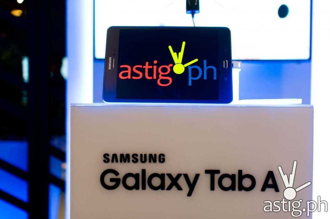 """The Samsung Galaxy Tab A comes with an 8"""" screen, 4G LTE capability, and the S-Pen (15,990 PHP)"""