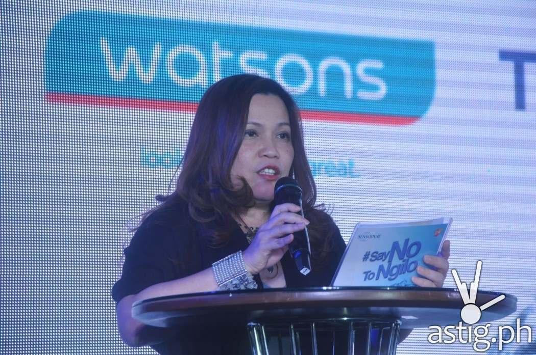 Dr. Mae Abarquez, Senior Assistant VP, Watsons