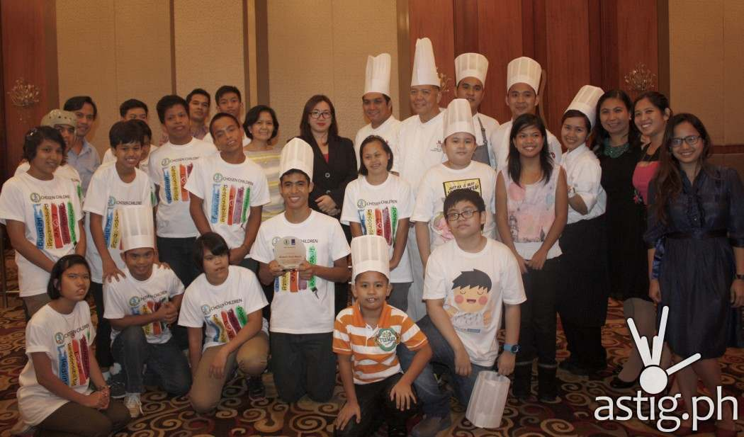 First batch of Marriott Manilas The Kitchen Project cooking classes for kids with special needs