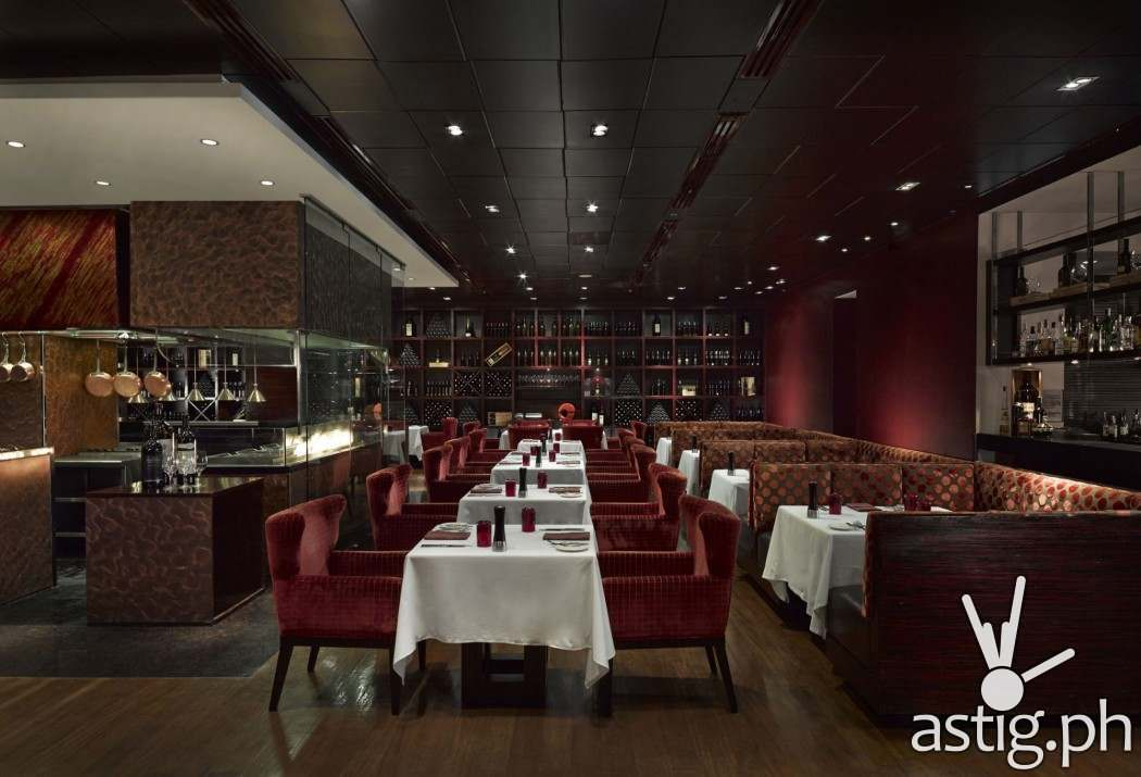 Cru Steakhouse for signature steaks and luscious desserts