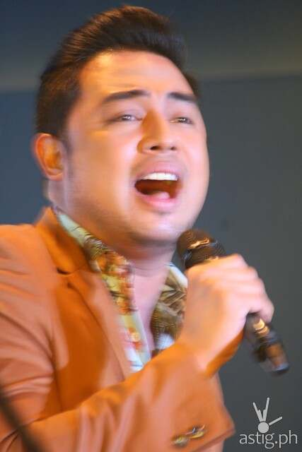 Jed Madela at the Iconic album launch