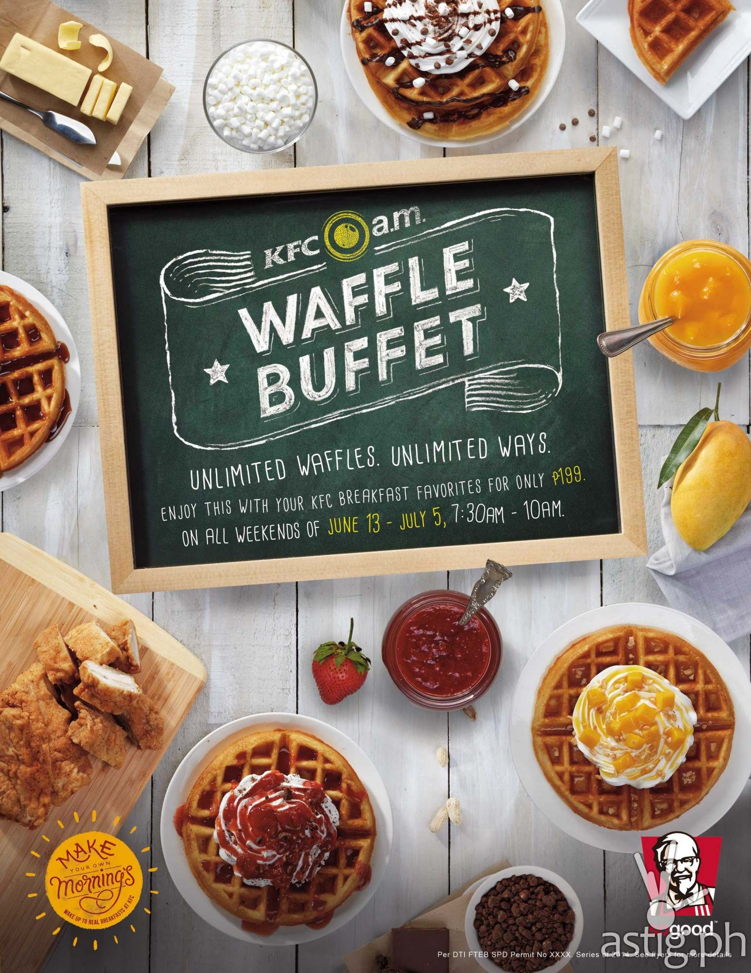 Fine Kfc Breakfast Buffet Is Back With Unlimited Waffles P199 Interior Design Ideas Clesiryabchikinfo