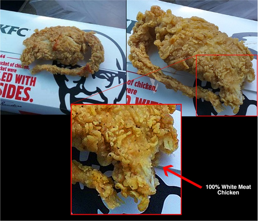 KFC fried rat hoax