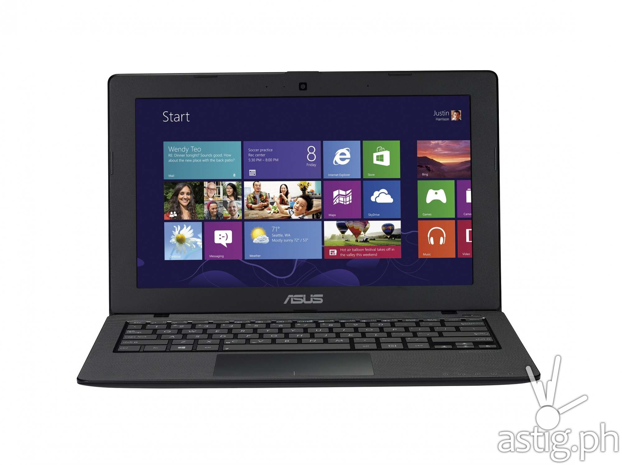 ASUS X200MA Windows 8.1 laptop