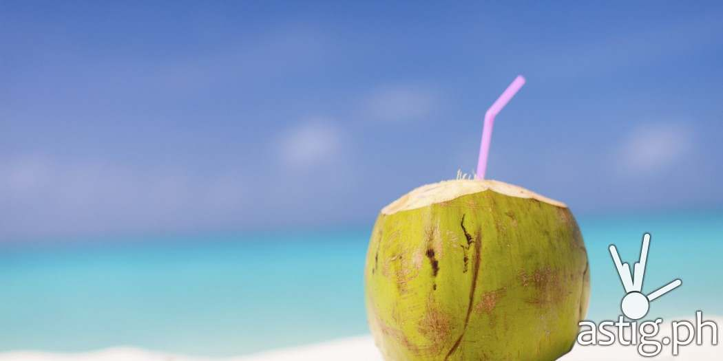Coconut drinks are perfect to keep you cool during the summer