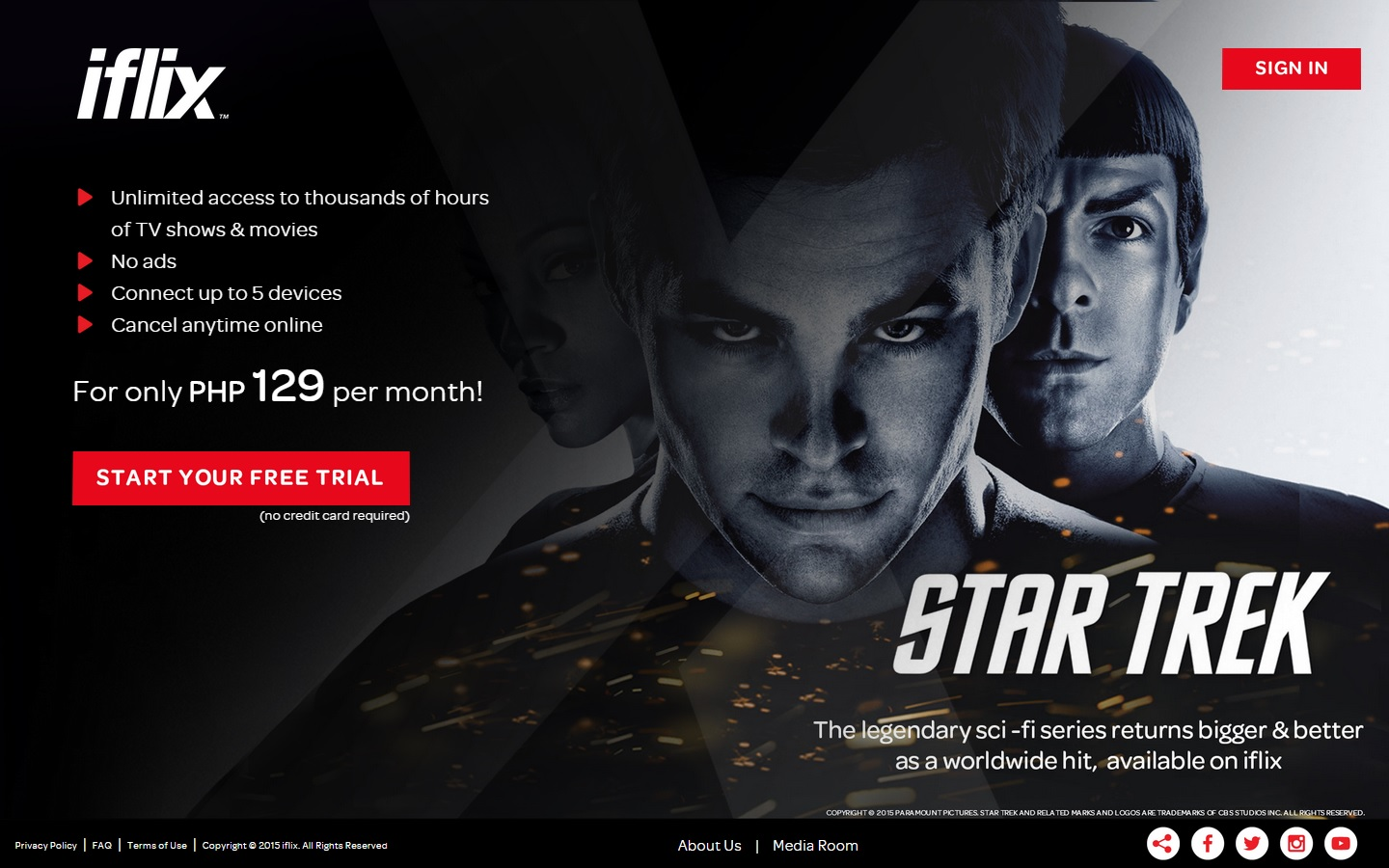 iflix now available to PLDT HOME and Smart subscribers @ P99