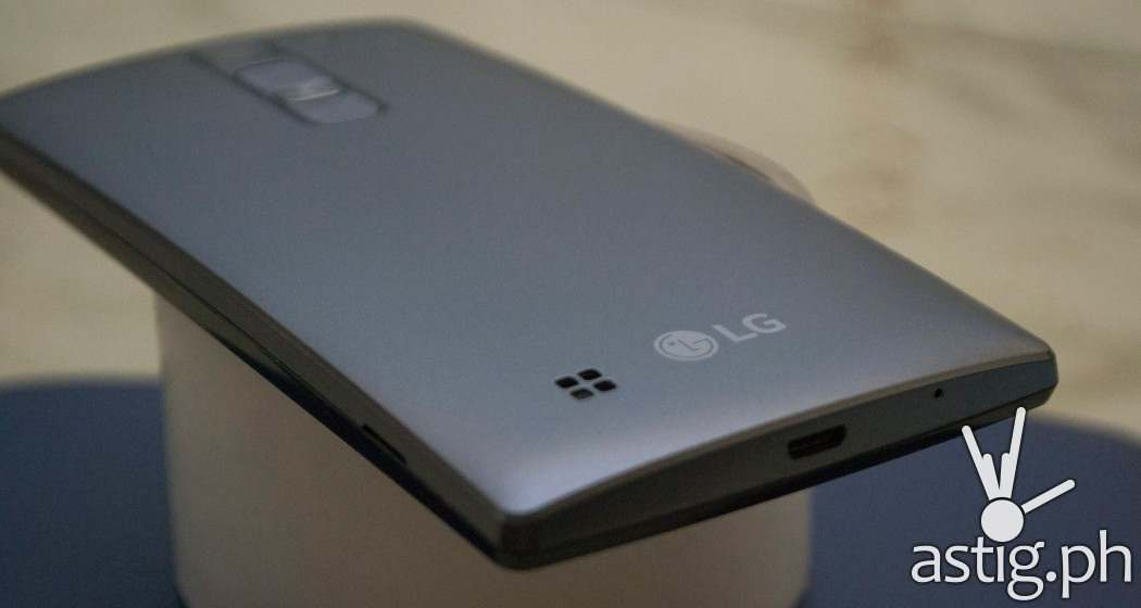 LG Magna's backplate is solid and feels premium