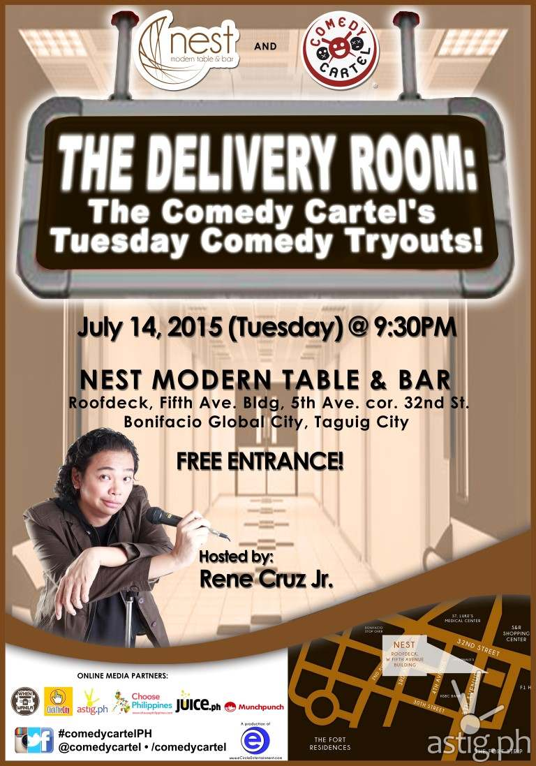 Delivery Room Comedy Cartel