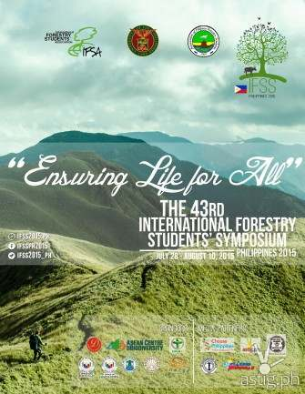 IFSS 2015 at UPLB: Ensuring Life for All [event]