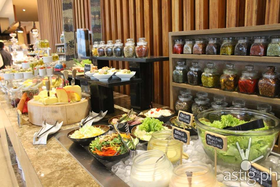 Greens and Canapes at City Garden Grand Hotel Makati Spice Cafe