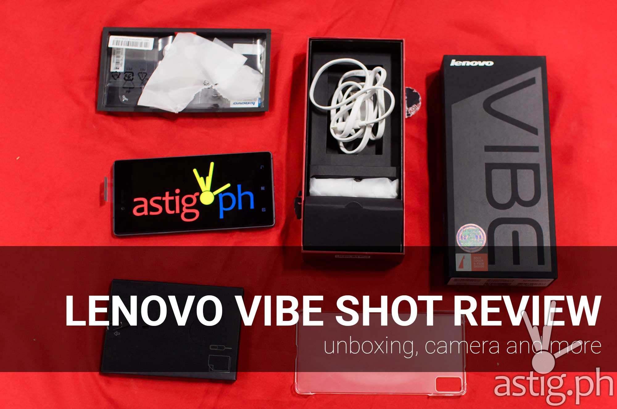 Lenovo VIBE Shot review unboxing [video] | ASTIG PH