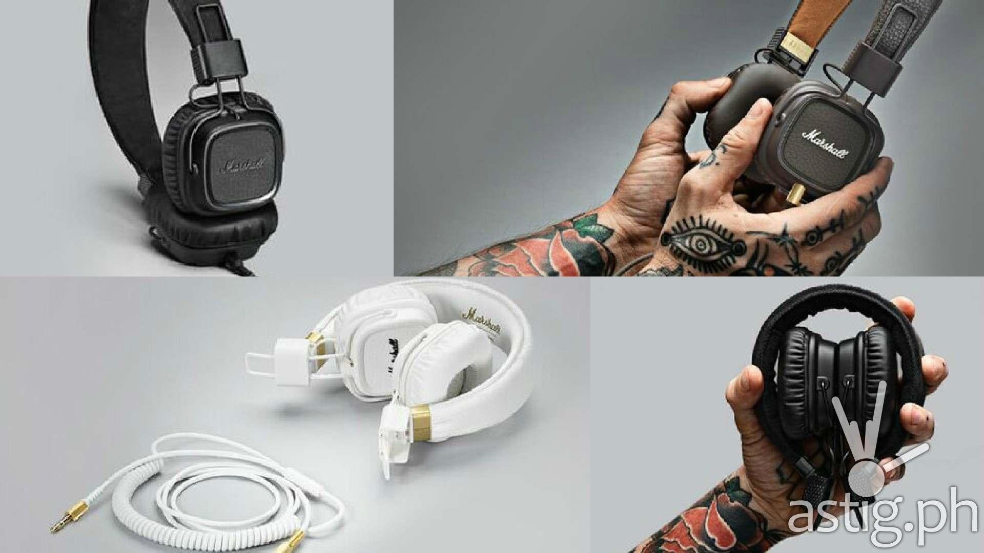 Marshall Major 2 over the ear headphones